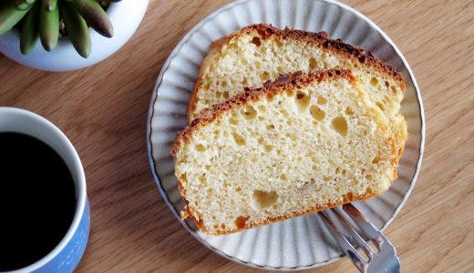 ふわふわ食感&砂糖不使用★MCTオイルパウダーのバナナケーキ